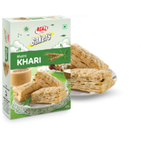 Real Bakers Methi Khari - 400 Gm