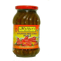 Mother's Recipe Stuffed Red Chilli Pickle - 500 Gm