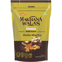 Makhana Walas Roasted Makhana Khatta Meetha - 60 Gm