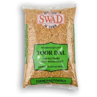 Swad Madhi Toor Dal Oily - 4 Lb