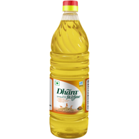 Dhara Filtered Groundnut Oil - 1 Ltr