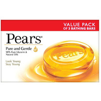 Pears Soap (Yellow) Pure & Gentle 3 Pack - 125 Gm