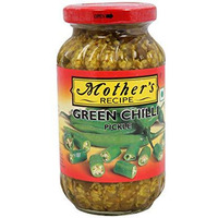 Mother's Recipe Green Chilli Pickle - 500 G