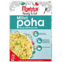 Manna Millet Poha Ready to Cook - 180 Gm