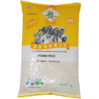 24 Mantra Ponni Raw Rice - 10 Lb