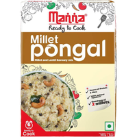 Manna Millet Pongal Ready to Cook - 180 Gm