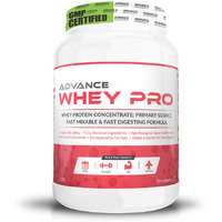 Advance Nutratech Whey Protein Pro 1kg (2.2LBS) Strawberry Flavour