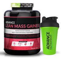 Advance Nutratech Lean Mass Gainer 3Kg (6.6LBS) Chocolate + free shaker