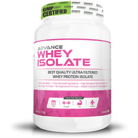 Advance Nutratech Advance Whey Isolate Protein Powder 1Kg (2.2Lbs) Vanilla
