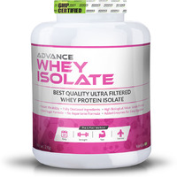 Advance Nutratech Whey Isolate Protein Powder 2kg (4.4 LBS) vanilla