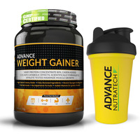Advance Nutratech Weight Gainer 2 Lbs Banana Sugar + shaker free