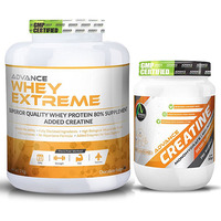 Advance Nutratech Whey Protein Extreme 2 kg. Chocolate + Creatine 300gm Unflavored