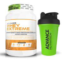 Advance Nutratech Whey Protein Extreme Powder 2Lbs. Chocolate + SHAKER