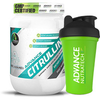 Advance Nutratech Citrulline Post Workout 200gm unflavoured raw powder With Free Shaker