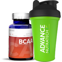 Advance Nutratech BCAA 100Gm powder Flavored with Shaker