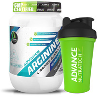Advance Nutratech Arginine Aminos Pre-workout 240 Capsules With Free Shaker