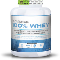 Advance Nutratech 100% Whey Protein Powder 2kg vanilla with multivitamin