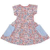 Always Kids' Long Weekend Multi-Primrose Printed Dress