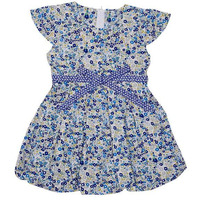 Always Kids' Sabrina Printed Dress Navy Primrose