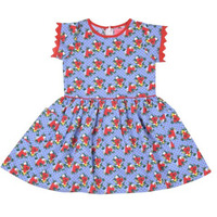 Always Kids' Angie Printed Dress Blue Kensington