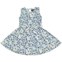 Always Kids' Navy Primrose Lollipop Printed Dress