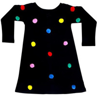 Always Kids' Pom Pom Printed Dress
