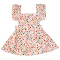 Always Kids' Pink Cherry Pinni Dress
