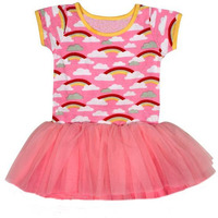 Always Kids' Pink Rainbow Claudia Dress