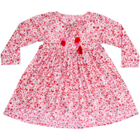 Always Kids Girl's Pink Primrose Harlow Printed Dress
