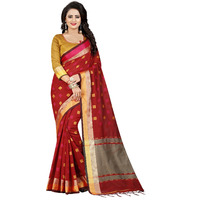 Mastani Red Cotton S ...