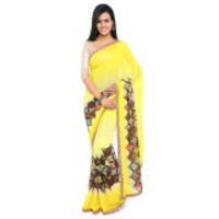 Indian Ethnic Yellow ...