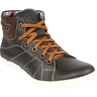 Molessi Brown Leather Casual Shoe