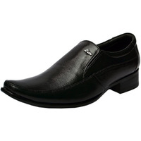 Molessi Black Leather Formal Shoes