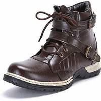 Molessi Brown Stylish Boots