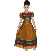 Bhartiya Paridhan Girls Ready To Wear Traditional Top & Bottom Set