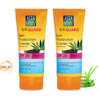 Winter Special Astaberry UV Guard Sun Protection SPF 20 (100 ml) Packs