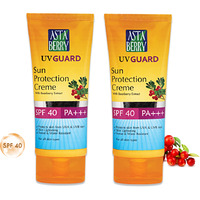 Winter Special Astaberry UV Guard Sun Protection SPF 40 (100 ml) Packs
