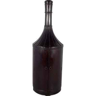 TEAK WOOD 6FT BOTTLE ...