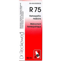 Dr Reckeweg Germany R75 Labour Pains & Menstrual Cramps Homeopathic