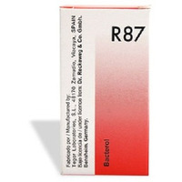 Dr Reckeweg Germany R87 Anti Bacterial Drops Homeopathic Mecine for Infections