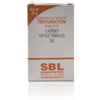 SBL Homeopathy Carbo Vegetabilis Trituration Tablet