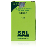SBL Homeopathy OTC Silicea 6X, 25gm Natural Active Safe