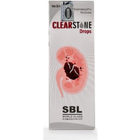 HOMEOPATHY SBL Clearstone Drop 30 ml for kidney and ureter stoHOMEOPATHY SBL Clearstone Drop 30 ml for kidney