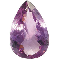 4 Carat Natural Amethyst Certified Gemstone for Ring and Pendent