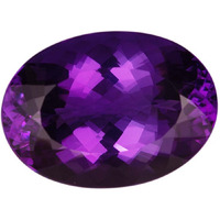 8 Cts Certified Amethyst Gemstone