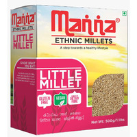 Manna Ethnic Millets Little Millets - 500 Gm