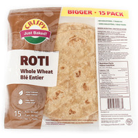 Crispy Roti Whole Wheat (15 Pcs) - 750 Gm