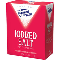 Diamond Iodized Salt - 4 Lb