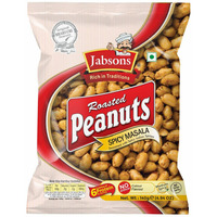 Jabsons Roasted Peanuts Spicy - 140 Gm