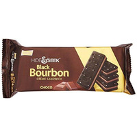Parle Hide Black Bourbon Choco - 100 Gm